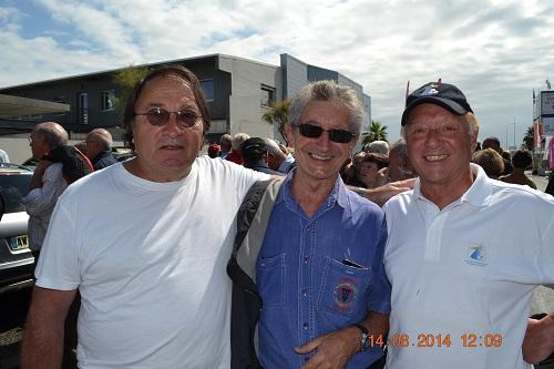 Les Présidents des associations AUPTAFONT (Bernard Belin à gauche) et APBA (Claude Pascal à droite)