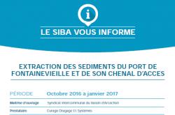 2016 SIBA travaux dragage Fontainevieille panneau com travaux image