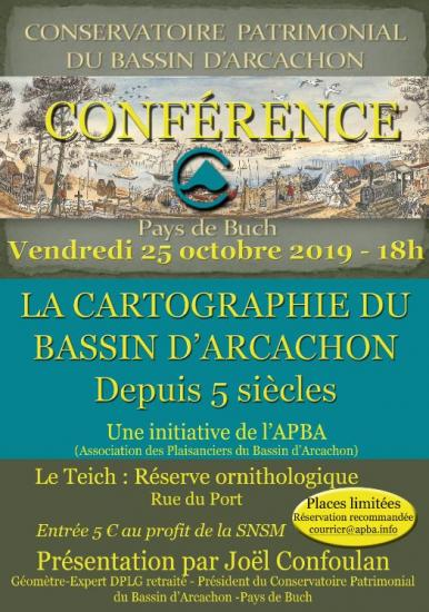 20190928 conference cartographie