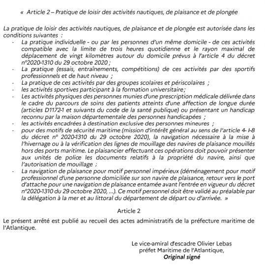 20201102 arrete prefet maritime page 2