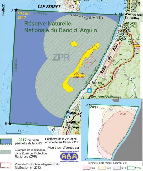 Arguin RNN carte decret 2017