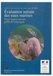 PAMM - brochure évaluation initiale eaux marines